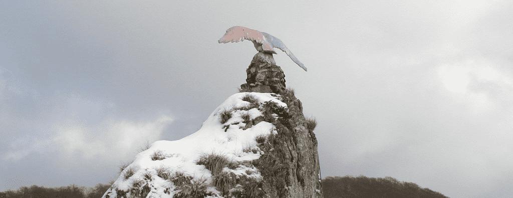 Der Hübichenstein im Winter